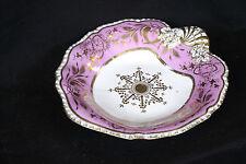 Plat en porcelaine début XIXème siècle, Angleterre / Uk plate, beginning 19th