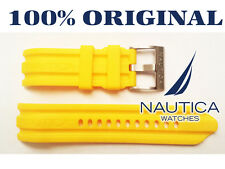 NAUTICA REPLACEMENT BAND 100% ORIGINAL YELLOW 24mm N16509G N15566 N14604 BFD 100