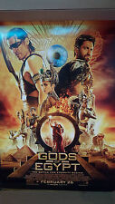 Gods of Egypt The Battle for Eternity Begins Movie Poster 27 x 40 DS Authentic