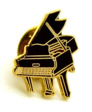 Pin Spilla Pianoforte A Coda cm 1,6 x 1,9 - (Cod. M127)