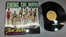 SWING THE MOOD- JIVE BUNNY AND MASTERMIXERS-VINILO - PORTADA VG + /  DISCO VG +