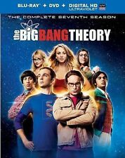 Big Bang Theory Complete Seventh Season Blu-ray + DVD+ Ultraviolet 2014 7 Seven