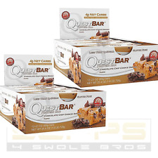 Quest Bar Chocolate Chip Cookie Dough - 2-PACK ! INSANELY LOW PRICE & FREE SHIP!