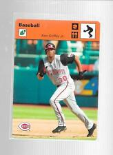 2005 Leaf - KEN GRIFFEY JR  - Orange Fielding Sportscasters - REDS #d 02/40