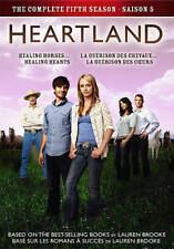 HEARTLAND SEASON 5 (5 DVD SET) - NEW - REGION 1 USA /CANADA - Amber Marshall