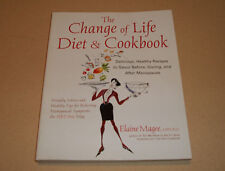 FREE SHIP The Change of Life Diet & Cookbook by Elaine Magee, MPH.R.D.