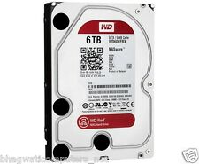 "WD 6TB Red Sata Nas Hard Disk Drive 3.5"" 6 Gb/s 64MB Cache 6 TB Western Digital"