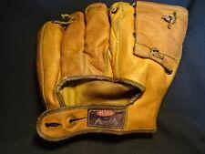 Old Vtg Franklin Baseball Glove Bill Goodman Model F433 Genuine Cowhide