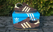 BNWB & Genuine adidas originals  Jeans MkII Mk2 Brown Suede trainers UK Size 6