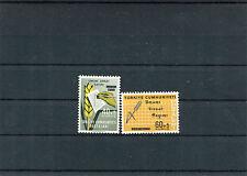 TURCHIA-TURKEY 1963 serie censimento agrario 1650-51 MNH