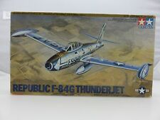 Tamiya REPUBLIC F-84G THUNDERJET 1/48 Scale Plastic Model Kit UNBUILT 1998