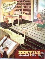 KENTILE Kennedy ASBESTOS ASPHALT Tile Floor Catalog '44