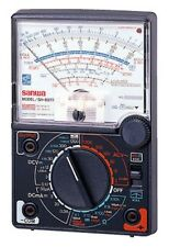 Analog Multimeter Capacitance Meter Sanwa SH-88TR From JAPAN