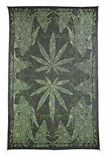 MARIJUANA HEMP LEAF SPECIAL EDITION OPTICAL ILLUSION TAPESTRY-WALLHANGING-60x90