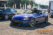 Honda S2000 Gloss Front Bumper Splitter / Diffuser / Lip for Racing v4