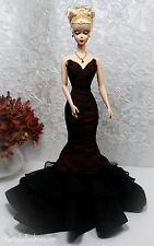 NEW EVENING DRESS ONLY FOR BARBIE SILKSTONE FASHION ROYALTY ELISE JOLIE DOLL