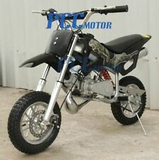 49cc 2-Stroke GAS Motor Mini Pocket Dirt Bike for KIDS Free S/H BLACK I DB49A