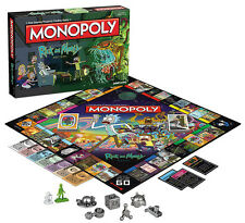 Rick and Morty Monopoly USO MN085434