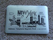 World Trade Center - Twin Towers - Address / Telephone magnetic book with WTC
