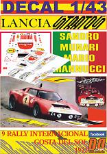 DECAL 1/43 LANCIA STRATOS HF S.MUNARI R.COSTA DEL SOL 1972 DnF (02)