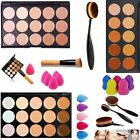 15 Farben Damen Pro Partei  Contour Face Cream Make-up Concealer Palette Set