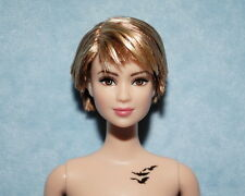 CUTE! Highlighted Short Dirty Blonde NUDE Jointed BARBIE for OOAK or Repaint
