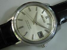 Classic KING SEIKO DIASHOCK 4402-8000 Men's Watch Japan Made Date Nice
