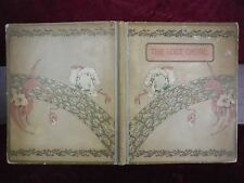 ADELAIDE A.PROCTER: THE LOST CHORD & OTHER FAVORITE POEMS ILLUSTRATED/SCARCE
