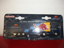 red bull racing transporter formule team F1 camion truck  1/87 voiture Majorette
