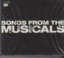 SONGS FROM THE MUSICALS - VARIOUS on 2 CD's - NEW