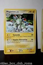 POKEMON MAGNETON TIPO/ELETTRO 43/100 EDIZIONE ITALIANA 2009 RARA MM1