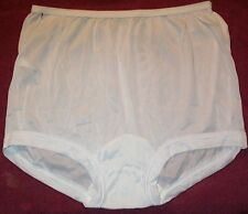 3 Pair Size 8 White ACETATE BAND LEG Panty USA Made Closeout Price