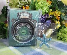 Disney Little Mermaid Sephora compact Prince Eric and Ariel in Boat w hair clip