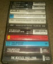 THE BEATLES Tape LOT 11 Cassettes HITS abbey road SGT PEPPER'S love songs MASTER