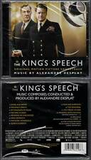 THE KING'S SPEECH / LE DISCOURS D'UN ROI (CD BOF/OST) A.Desplat 2010 NEUF