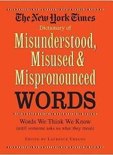New York Times Dictionary of Misunderstood, Misused, & Mispronounced Words, , Bl