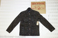 Authentic TRUE RELIGION Utility Field MILITARY Camo Coated JACKET $248 - Mens M