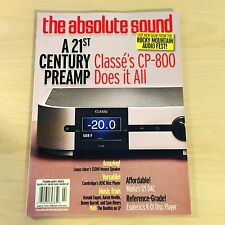 The Absolute Sound Issue 230, 2013 TAS Music Classe CP-800 Wadia Esoteric DAC