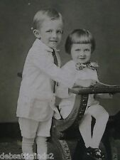 Antique Cabinet Photo Matt-Darling Boys,Brothers,White Fashion Suits,Shoes,Chair