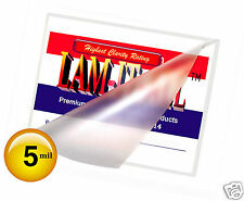 500 12 x 18 LAM-IT-ALL Menu Hot Laminating Pouches 5 Mil 12x18 Clear