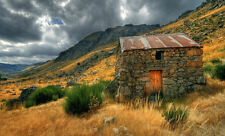 Framed Print - Walking Claiming Hunting Shack (Picture Poster Art Mountaineering
