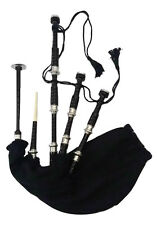 New Highland Bagpipe Blackl Rosewood Silver Mounts/Scottish Bagpipes/Bagpipes