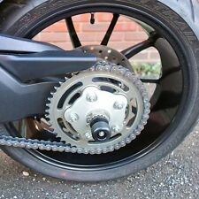 DUCATI HYPERMOTARD 821 REAR AXLE CRASH MUSHROOMS SLIDERS BOBBINS BUNGS KNOB S11G