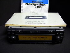 Original Mercedes sistema de navegación audio 30 APS be4700 becker radio