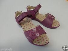 Gabor Kids Mädchenschuhe Sandalen Biscoti echtes Leder lila EUR 33