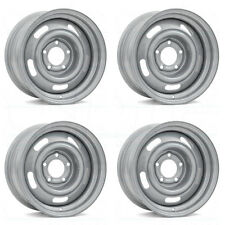 15x8 Vision 55 Rally 5x127 5x5 -6 Silver Wheel New set(4)