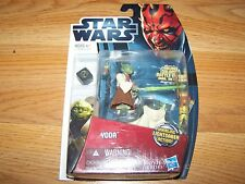 Star Wars Movie Heroes Yoda Action Figure MH09 Whirling Lightsaber Action New