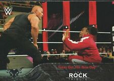 The Rock Tribute WWE Then Now Forever 2016 Trading Card 40 of 40 Xavier Woods