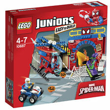 LEGO JUNIORS SET 10687 SPIDER-MAN HIDEOUT BRAND NEW SEALED BOX