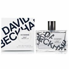 David Beckham Homme EDT Eau de toilette 75ml NEW